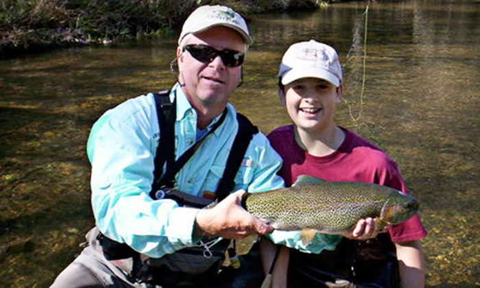 New River Fly Fishing - Roanoke: $85 for a Half-Day Fly-Fishing Clinic with Equipment Provided from New River Fly Fishing ($175 Value)