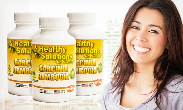 Garcinia Cambogia Dietary Supplement: Healthy Solutions for Vitality Garcinia Cambogia Supplement (Up to 78% Off). Free Shipping on Purchases of $15 or More.