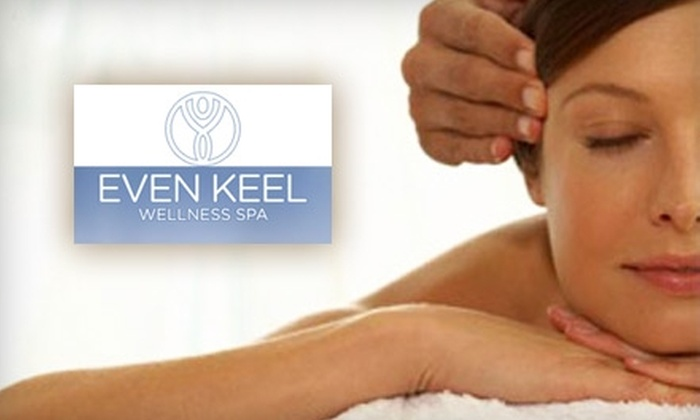 Even Keel Wellness Spa - Annapolis: $50 for $100 Toward Any Massage or Facial Service at Even Keel Wellness Spa in Annapolis