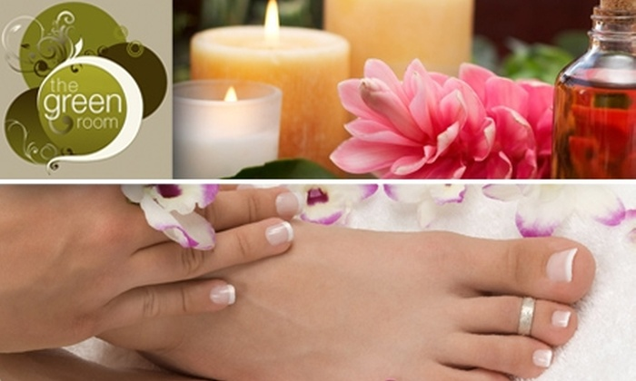 The Green Room  - Sunpark: $15 for Classic Mani-Pedi Package at The Green Room ($35 Value)