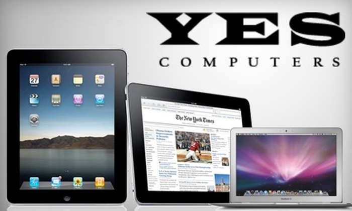 Yes Computers - Northampton: $49 for $100 Worth of Merchandise from Yes Computers, Apple Specialist