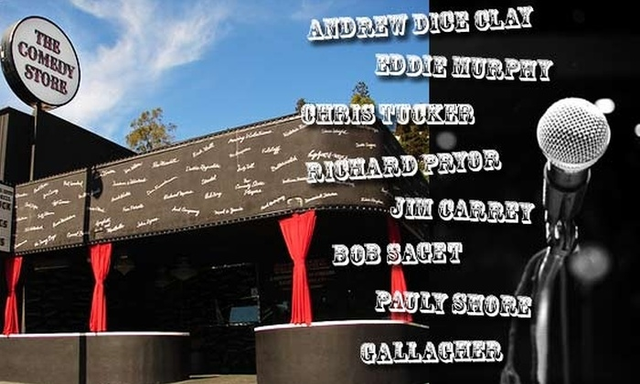 The Comedy Store - La Jolla - Village: $10 for 1 Weekend Ticket or 4 Weekday Tickets at The Comedy Store (Up to $32 Value)