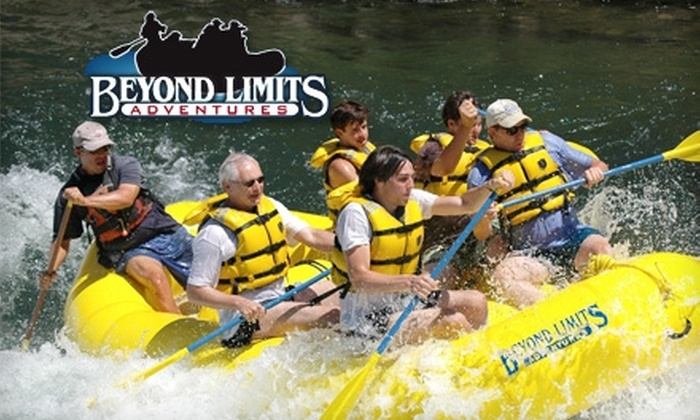 Beyond Limits Adventures - North El Dorado: $55 for a Half-Day Rafting Trip on the South Fork of the American River from Beyond Limits Adventures in Lotus (up to $115 Value)