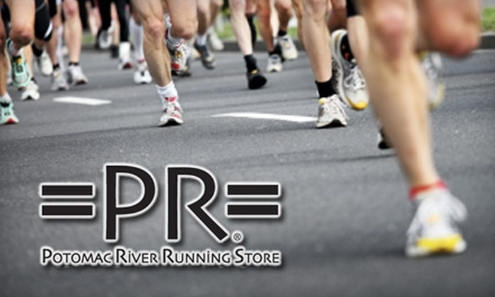 Potomac River Running - Multiple Locations: $25 for $50 Worth of Shoes and Apparel at Potomac River Running