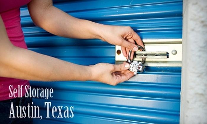 My Austin Storage - Multiple Locations: $25 for $75 Worth of Storage Space at My Austin Storage. Choose from Three Locations.