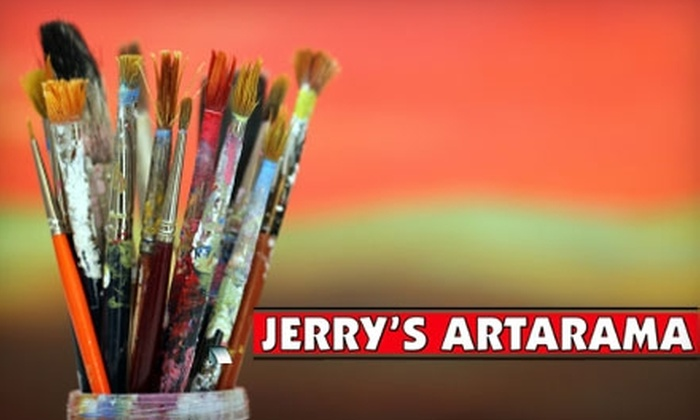 Jerry's Artarama - Shoppes at Cresthaven: $48 for $100 Worth of Custom Framing at Jerry's Artarama