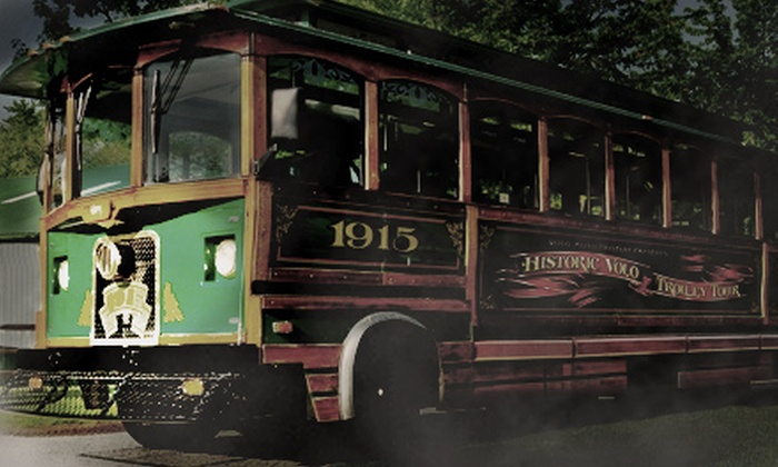 Volo Auto Museum - Volo: Haunted Trolley Tour and Museum Outing for Two, Four, Six, or Eight at the Volo Auto Museum