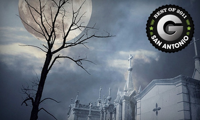 Ghosts & Legends of San Antonio - Downtown: $18 for a Guided Ghost Tour for Two from Ghosts & Legends of San Antonio (Up to $36 Value)