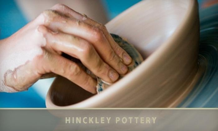 Hinckley Pottery - Adams Morgan: $25 for a Beginner Try It! Pottery Class at Hinckley Pottery