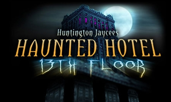 Haunted Hotel-13th Floor - Huntington: $7 for One VIP Fast-Pass Ticket to Haunted Hotel-13th Floor in Huntington ($15 Value)