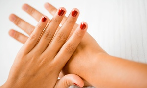 "Polished The Nail Boutique: No-Chip Manicure and Pedicure Package from Polished ""The Nail Boutique"" (44% Off)"