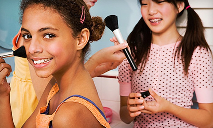 Girlfriendz - Granite Bay: Girls' Makeover Party for Four or Six at Girlfriendz (Up to 52% Off)