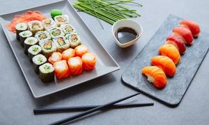 Kyo Sushi Bolzano: Menu giapponese con calice di vino per 2 o 4 persone da Kyo Sushi Bolzano (sconto fino a 54%)