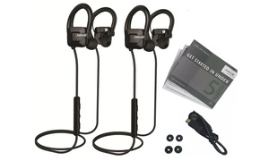 Jabra Step Bluetooth Earbuds (Manufacturer Refurbished) (1- or 2-Pack)