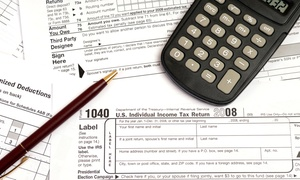 US Taxes Inc: Basic Federal Tax Filing for Single Filer or Married Couple at US Taxes Inc (Up to 66% Off)