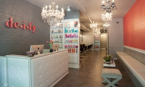 Deify Laser + Beauty Lounge: Three or Six Laser Hair-Removal Sessions at Deify Laser + Beauty Lounge (Up to 88% Off)