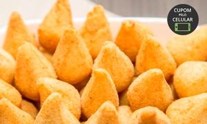 Dona Dinda: Kit festa com salgados, torta e refrigerante com a Dona Dinda – Nossa Senhora Aparecida