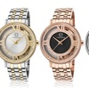 Cabochon Women's Stainless Steel Watches