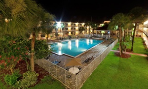 Stay At Roomba Inn & Suites Orlando/kissimmee In Kissimmee, Fl. Dates Into January.