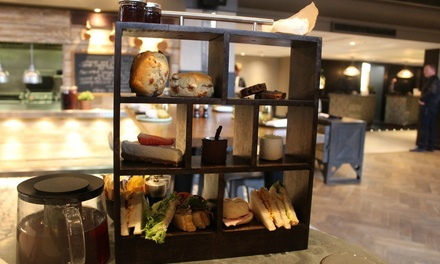 Sparkling Afternoon Tea for Two or Four at Fire Lake at 4* Radisson Blu Leeds (35% Off)