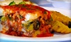 Opa Restaurant  (PLAKA) - Spring Valley: $26 for Authentic Greek Dinner Fare and House Wine for Two at Opa! Greek Restaurant (Up to $52 Value)