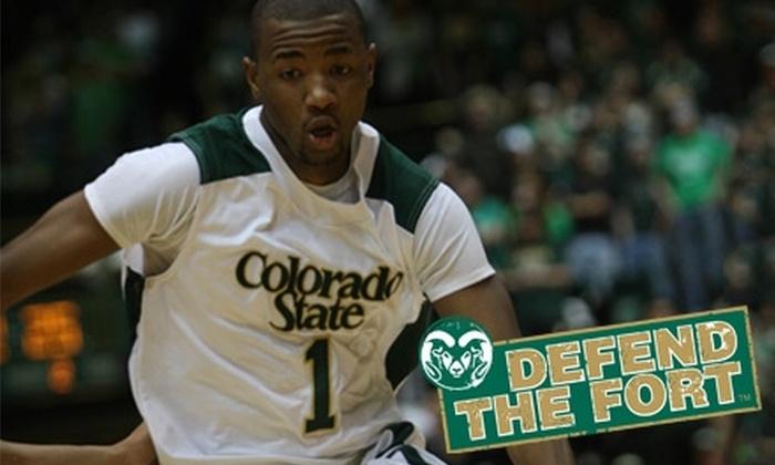 Colorado State University Men's Basketball - Fort Collins: $12 for Two Tickets to Colorado State University Men's Basketball vs. Air Force (Up to $24 Value)