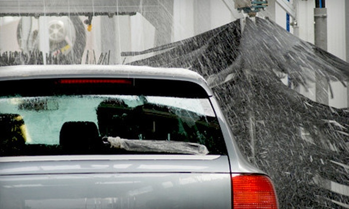 Shine Express Carwash - Multiple Locations: $20 for Five Gold Express Car Washes at Shine Express Carwash ($50 Value)