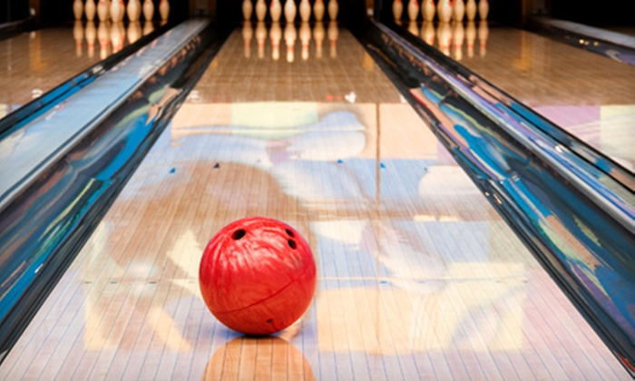 Classic Lanes & King Pin Bowl - Multiple Locations: $15 for A Two-Game Bowling Outing with Shoe Rental for Up to Five from Community Entertainment Centers (Up to $46.80 Value)