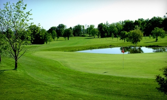 Rustic Glen Golf Club - Saline: $32 for 18 Holes of Golf for Two and Cart Rental at Rustic Glen Golf Club in Saline (Up to $78 Value)