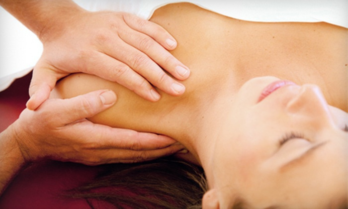 Asha, an Aveda Lifestyle Salon & Spa - Multiple Locations: Jasmine Massage, or Chamomile Massage and Green-Tea Facial at Asha, an Aveda Lifestyle Salon & Spa (Up to 52% Off)