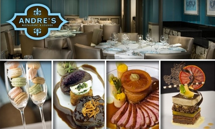 Andres French Restaurant - The Strip: $30 for $75 Worth of Pristine Dining and Drinks at Andre's Restaurant & Lounge