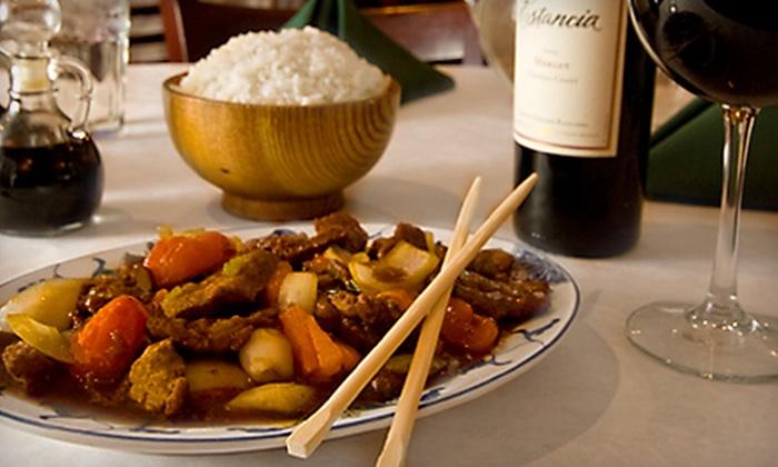 Szechwan Restaurant - St. Charles: $15 for $30 Worth of Chinese Cuisine and Drinks at Szechwan Restaurant in St. Charles