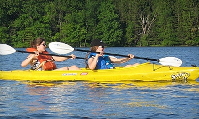 Bear Run Campground - Portersville: $30 for Two Kayak or Canoe Rentals and a Tent Site Sunday–Thursday at Bear Run Campground in Portersville (Up to $95 Value)