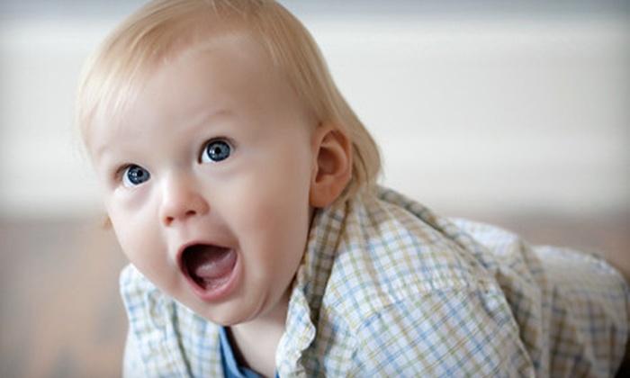 Brio Art - Semple Mansion: $89 for a Progressive, Three-Session Infant Photo-Shoot Series at Brio Art ($224 Value)