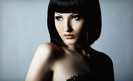 Haircut and Hair-Therapy Package (up to a $105 value) - Jon Alan Aveda Salon in Nashville