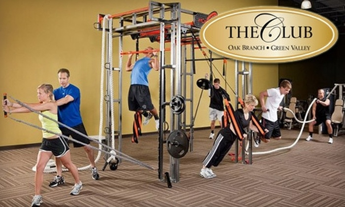The Club - Multiple Locations: $39 for a One-Month Membership, Four Personal-Training Sessions, and Unlimited Small-Group and Semi-Private Sessions at The Club