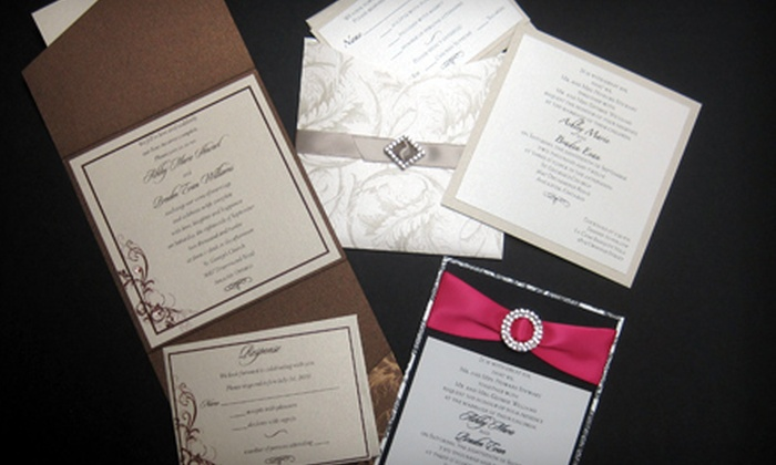 Pen Press 2 - Queenston: $25 for $50 Toward Wedding Invitations at Pen Press 2