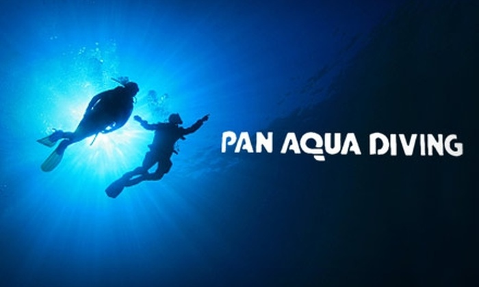Pan Aqua Diving - Clinton: $25 for a Discover Scuba Class at Pan Aqua Diving ($50 Value)