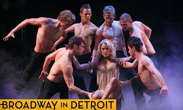 "Broadway In Detroit - Central: Ticket to ""Burn the Floor"" at the Fisher Theatre. Choose from Four Dates and Three Seating Options."