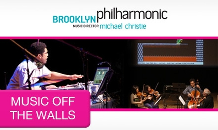 Brooklyn Philharmonic - New York: $15 for a Pair of Tickets to Music Off The Walls: Always Was & Will Be on Sunday, March 14, at 2 p.m.