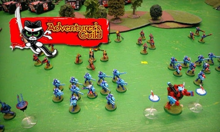 The Adventurer's Guild - Susquehanna: $10 for $20 Worth of Games, Cards, Miniatures, and More at The Adventurer's Guild