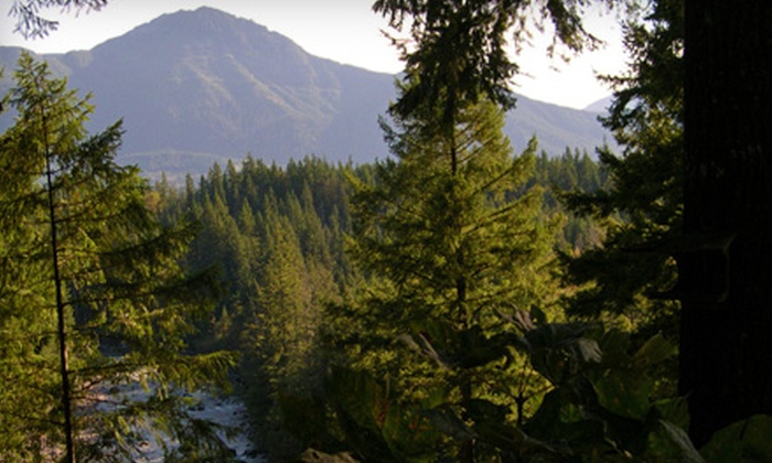 Roaring River Bed & Breakfast - Tanner: One-Night Mountainside Getaway for Two at Roaring River Bed & Breakfast in North Bend. 10 Options Available.