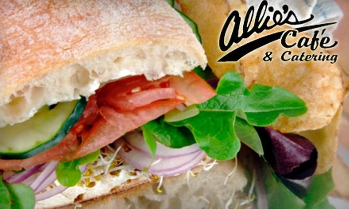 Allie's Cafe - River Park: $5 for $10 Worth of Homestyle Fare or $50 for $100 Worth of Catering at Allie's Cafe