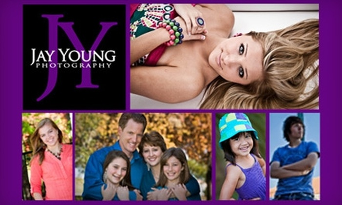 Jay Young Photography - Bedford: $49 for a Custom 30-Minute Portrait Session and Retouched Images from Jay Young Photography in Bedford ($327 Value)