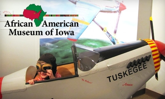 African American Museum of Iowa - Oakhill Jackson: $7 for a Family-Admission Four-Pack to the African American Museum of Iowa ($15 Value)