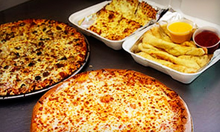 Avilla Pizza and Subs - Allen: $10 for Pizza Meal with Large Specialty Pizza, Breadsticks, and 2-Liter Soda at Avilla Pizza and Subs ($22.28 Value)