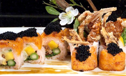 $18.50 for $30 Worth of Japanese Food, Hibachi, and Sushi at Miyako Sushi & Steakhouse