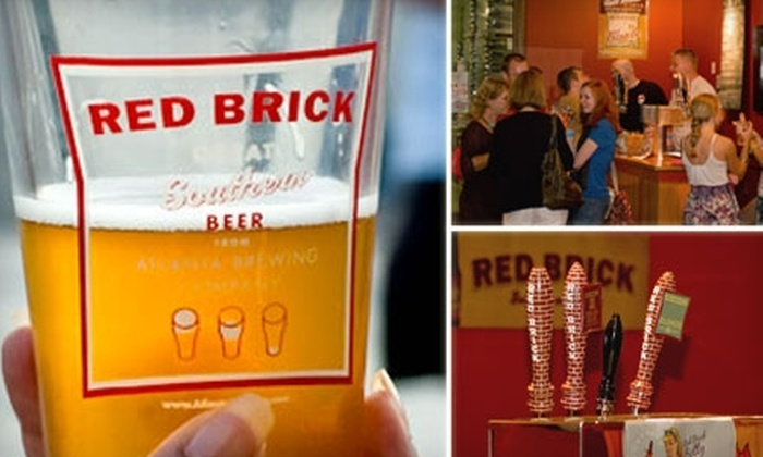 Red Brick Brewery - Underwood Hills: $8 for Two Souvenir Pint Glasses Plus a Free Brewery Tour and Tasting for Two at Red Brick Brewery