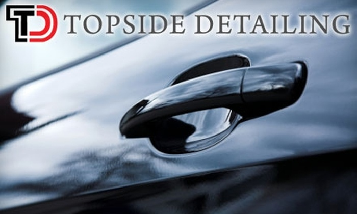 Topside Detailing - Fairfield County: $125 for Complete On-Site Detailing Package From Topside Detailing (Up to $250 Value)