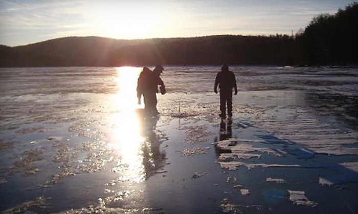 Charter the Berkshires Guided Ice Fishing Excursions - Eastside: Ice-Fishing Excursion for Two from Charter the Berkshires Guided Ice Fishing Excursions in Great Barrington (Up to 75% Off)